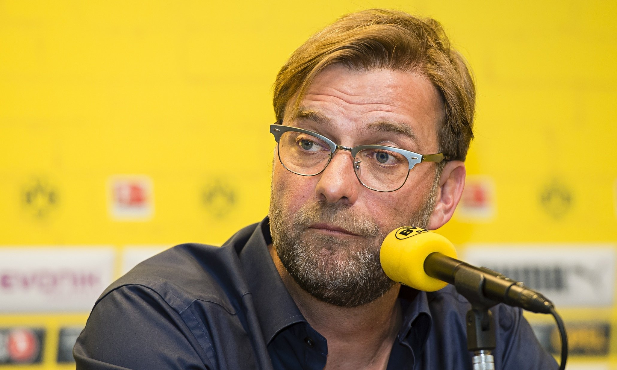 Jürgen Klopp, Borussia Dortmund press conference