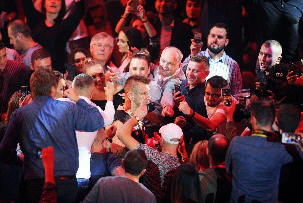 2017.11.18 Czestochowa Boks Gala Boksu Noc Wojownikow Gala Boksu Noc Wojownikow N/z Tomasz Adamek Foto Lukasz Sobala / Press Focus