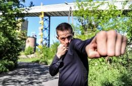19.06.2017 Ruda Slaska  Boks Robert Talarek Sesja zdjeciowa  N/z Robert Talarek Foto Rafal Rusek / PressFocus