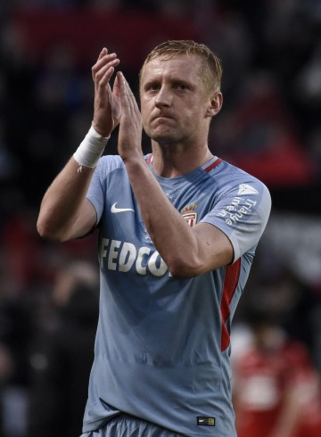 Monaco player Kamil Glik  is seen during SRFC Stade Rennais Football Club versus Monaco in Roazhon Park stadium . Rennes on April 04 2018. 04.04.2018 Rennes Pilka nozna, Liga Francuska Stade Rennais - AS Monaco Sebastien Salom Gomis / Sipa / PressFocus  POLAND ONLY!!